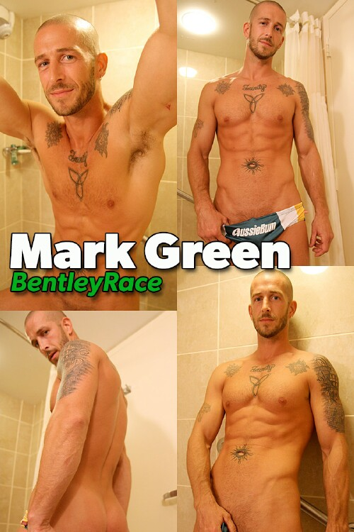 Straight and Muscular Mark Green